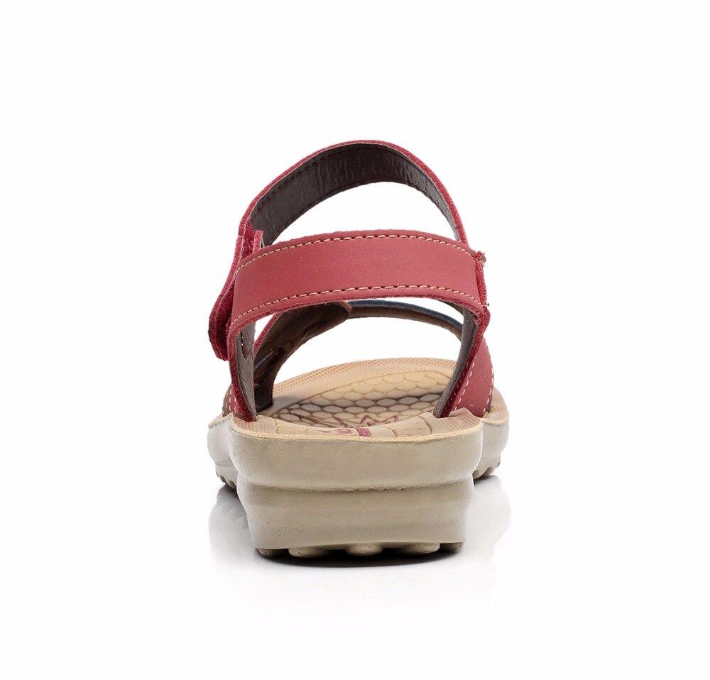 Image 3 - GKTINOO/летние женские сандалии; удобные женские туфли; пляжная обувь; сандалии гладиаторы; женские повседневные сандалии на плоской подошве; модная обувьБоссоножки и сандалии   -
