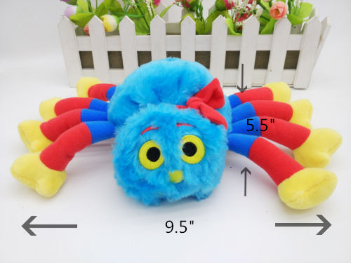"Woolly And Tig Spider WOOLLY Plush SOFT TOY 9.5"" NEW-in"