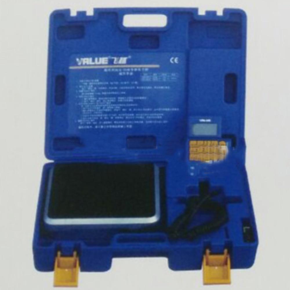 1 PC 9 V balance électronique VES-50A précision du milieu froid est appelé outils de réfrigération à échelle de fluor quantitatif