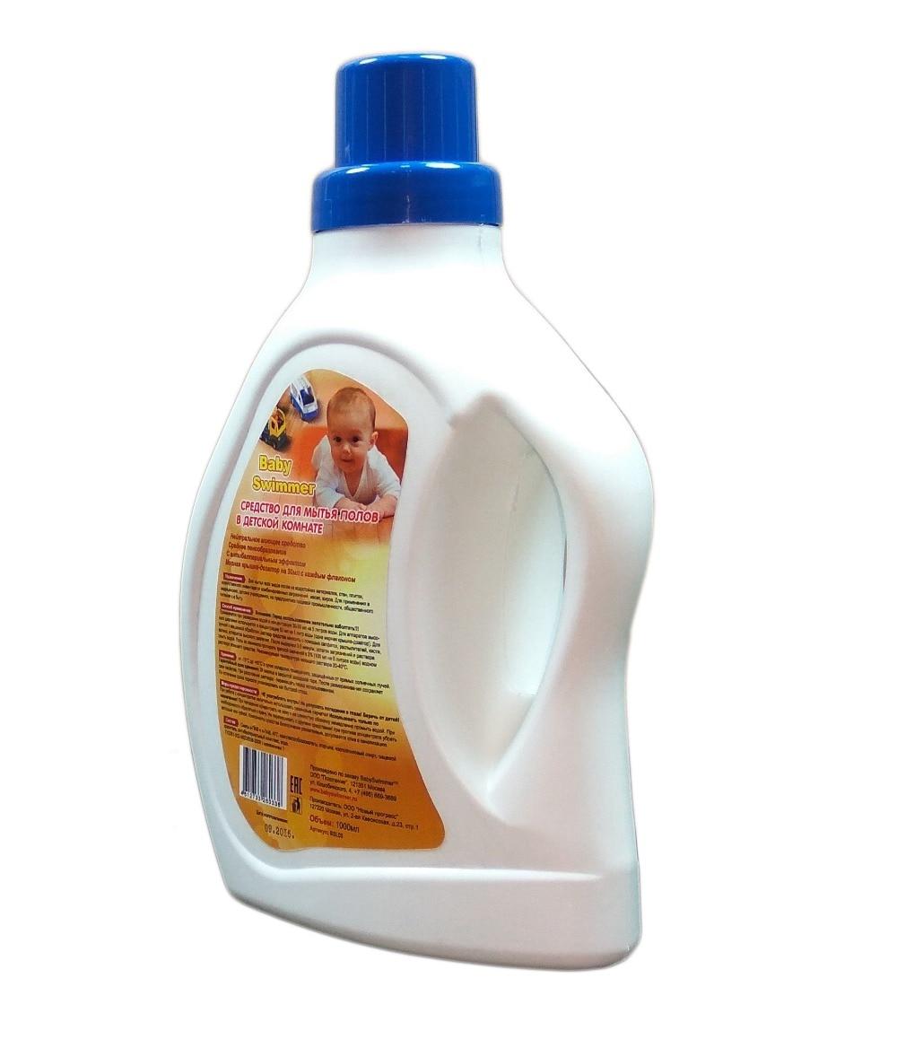 [] Liquid floor cleaner in baby room Baby Swimmer 1000 ml (min / multiple 11 pieces) blue Baby Swimmer BSL04