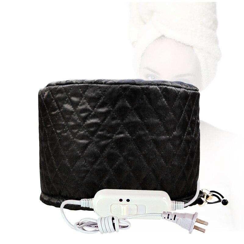 aquecimento electrico filme nutritivo cabelo cap cap aquecimento da marca mulheres chapeu feminino oleo cuidado do