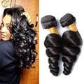 Adina Hair Brazilian Loose Wave 3 Bundles Brazilian Loose Wave Virgin Hair Weave 7A unprocessed 100% Virgin Human Hair Extension