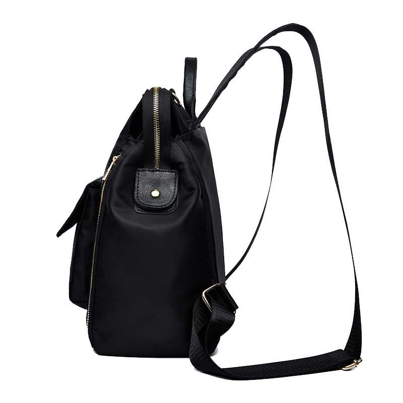 90674978cbca new casual womens backpack oxford cloth waterproof fashion elegant ...