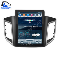 32G ROM Vertical screen android 4G car gps multimedia video radio player in dash for hyundai elantra 2016 years car navigaton