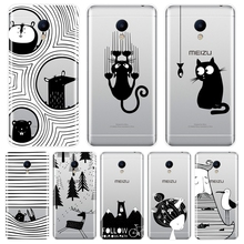 Soft Phone Case Silicone For Meizu M2 M3 M3S M5 M5C M5S M6 M