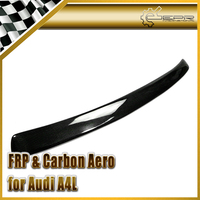 Car Accessories For Audi A4 B8 C Style Carbon Fiber Roof Spoiler Glossy Fibre Rear Window Wing Lip Racing Auto Body Kit Trim