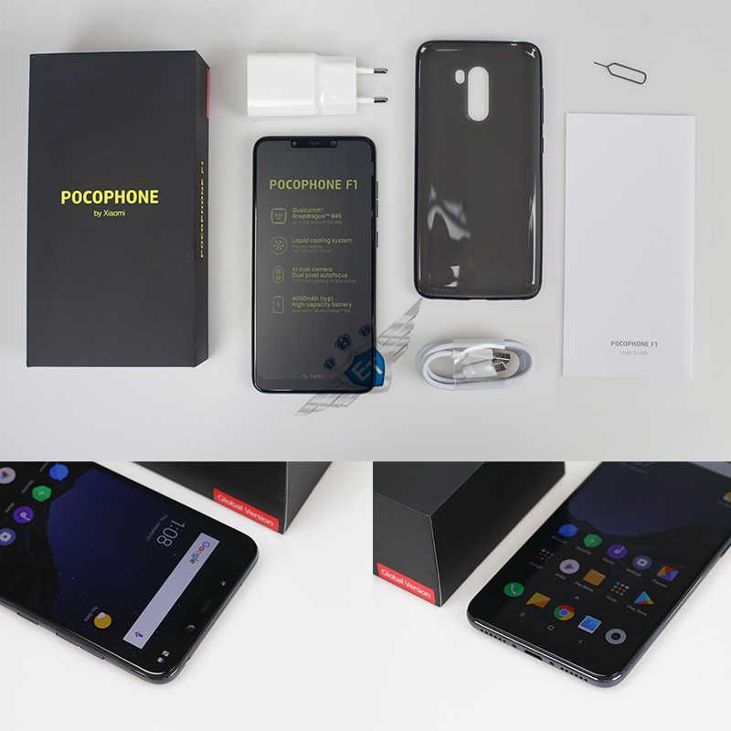 Xiaomi POCOPHONE F1 POCO F1 6GB 64GB Global Version Smart Phone Snapdragon  845 6 18'' Full Screen 20MP Camera LiquidCool 4000mAh