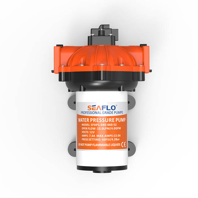 US $99 99 |SEAFLO 12 v Water pump 15 LPM Self priming 60 PSI for tank water  system marine boat yacht rv caravan -in Marine Pump from Automobiles &