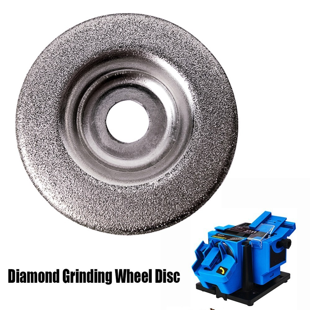50*8mm Diamond Grinding Wheel Cup Glass Emery Milling Cutter Circle Grinder Stone Sharpener Angle Cutting Wheel Rotary Tool