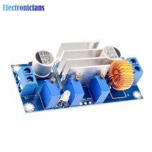 자동 보호! 5A 최대 DC DC XL4005 스텝 다운 벅 전원 공급 장치 모듈 Arduino 용 가변 CC/CV 리튬 충전 보드