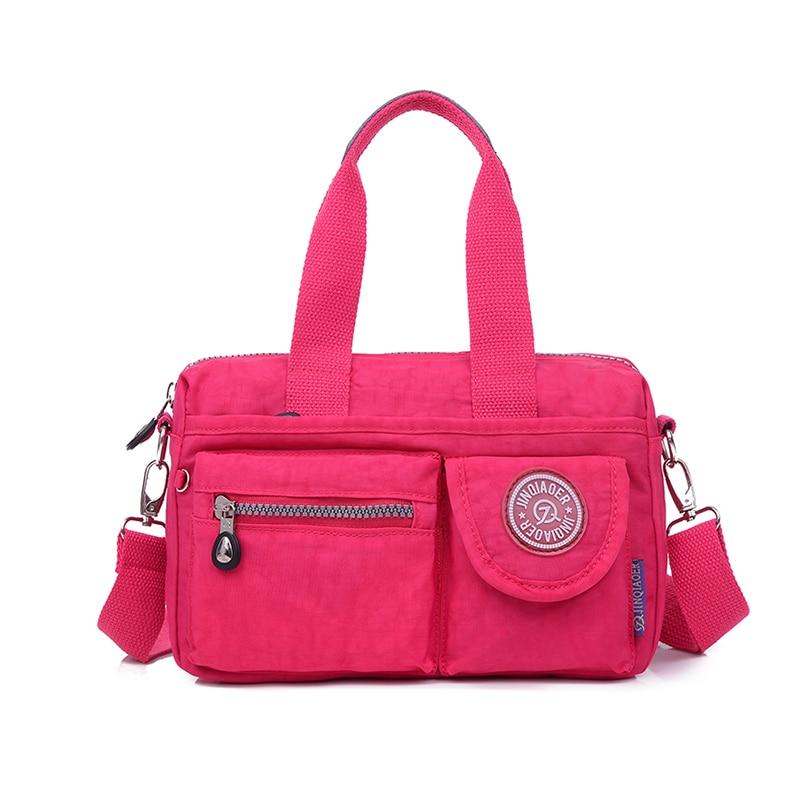 New Arrival Fashion Women Messenger Bags Shoulder Bag Nylon Bags Waterproof  Casual Handbag For  Teenagers