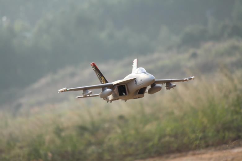90mm EDF F-18E RC Airplane EDF Fighting EPO RC Fixed Wing Airplane PNP/ARF/KIT Wingspan 37.5in
