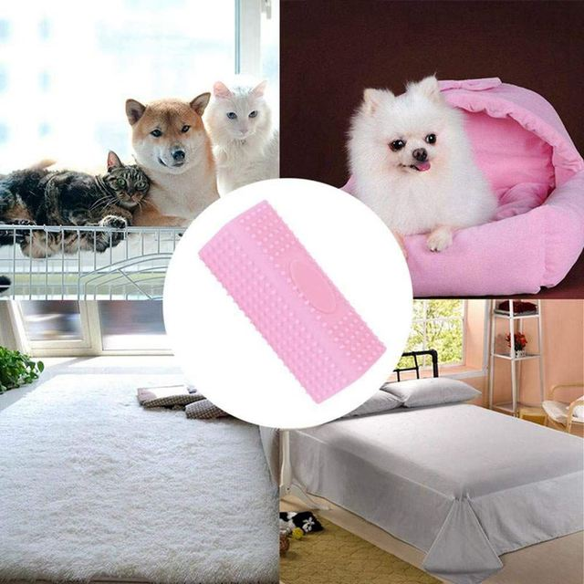 Hollow Rubber Pet Hair Remover Cat Dog