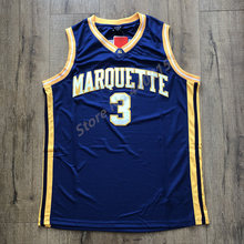 e6c7596c96a 2019 New  3 Dwyane Wade Marquette Golden Eagles College Basketball Jersey  Stitched S-2XL
