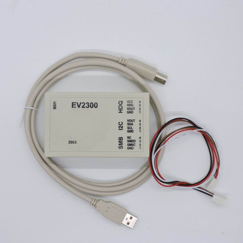 EV2300 detect battery unlocking software maintenance tools to assess BQ8012 USB based inter