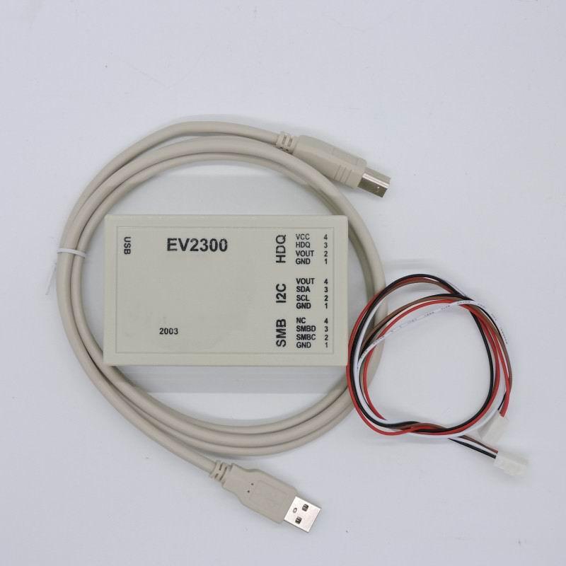 EV2300 détecter batterie déverrouillage logiciel de maintenance pour évaluer BQ8012 USB entre institutions