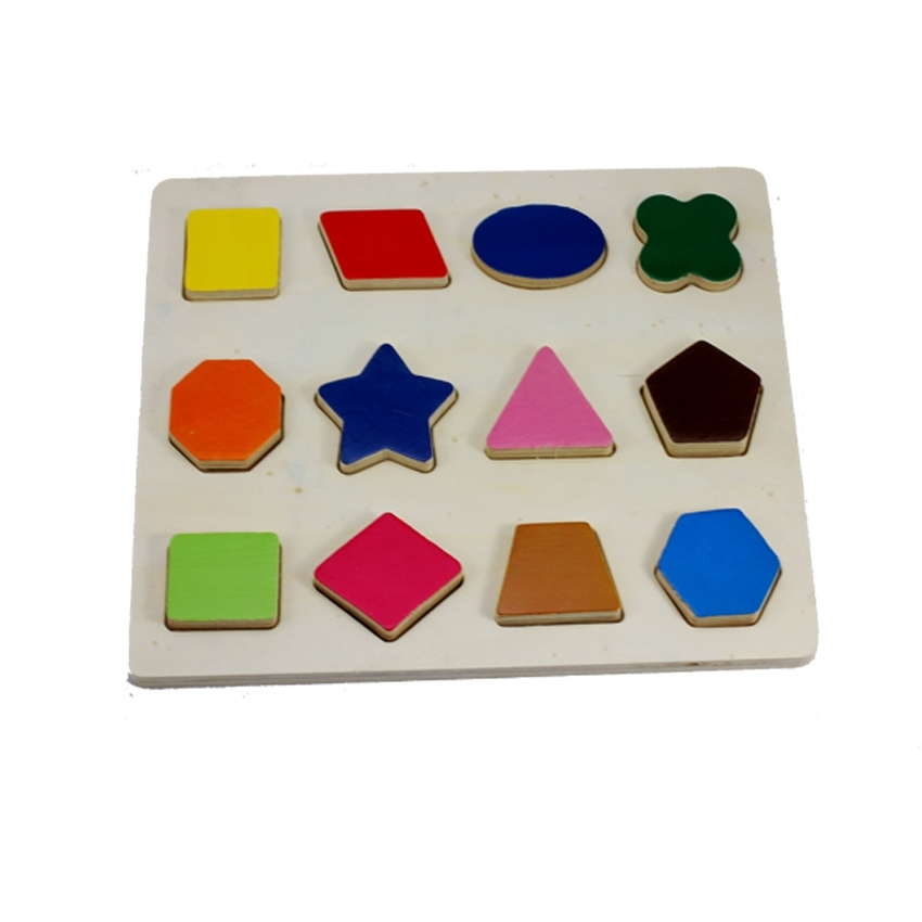 Geometry Puzzle Letter Puzzle Number Puzzle Wooden Toy