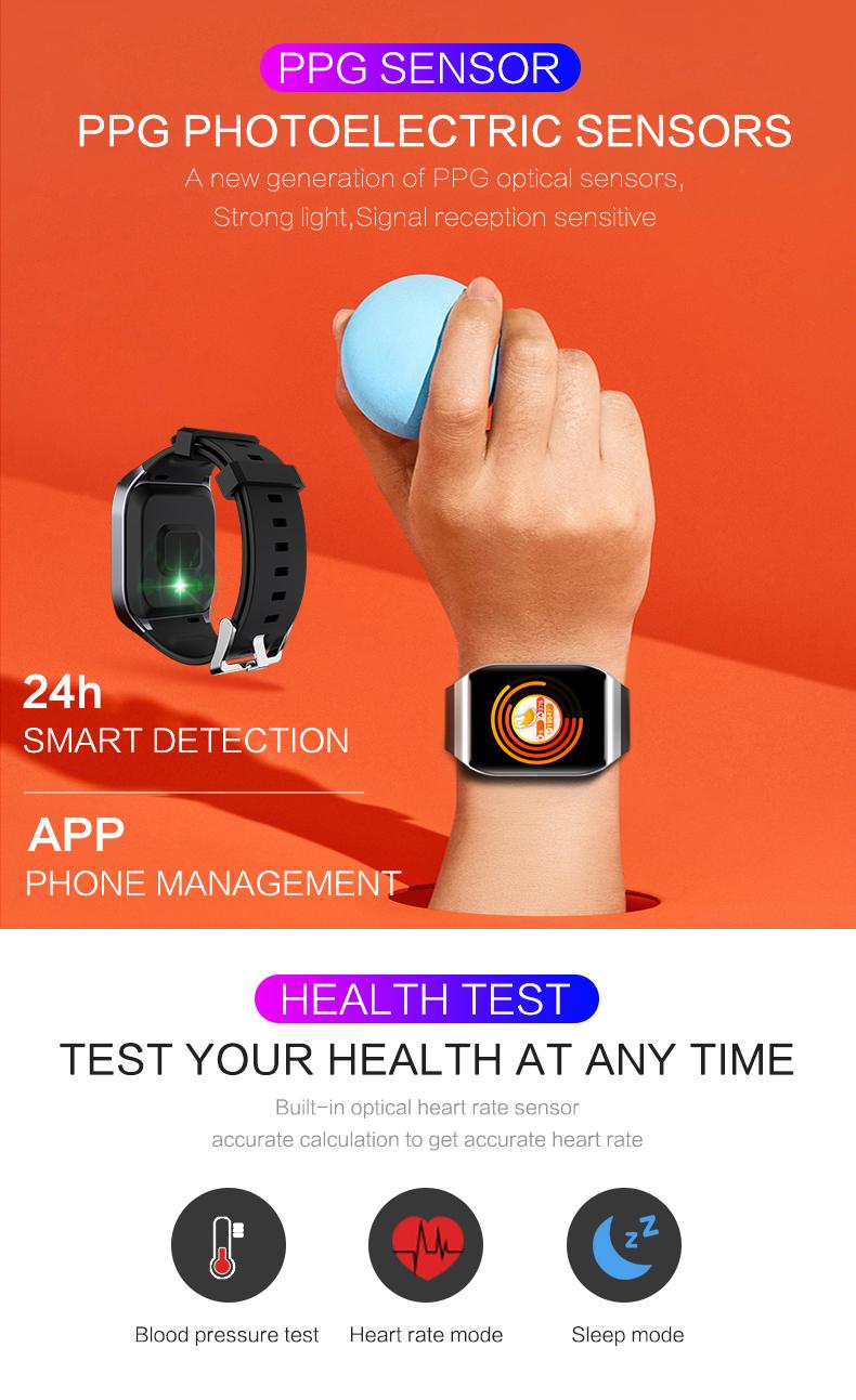 KSUN KS58 pulsera inteligente banda con Monitor de ritmo cardíaco 5