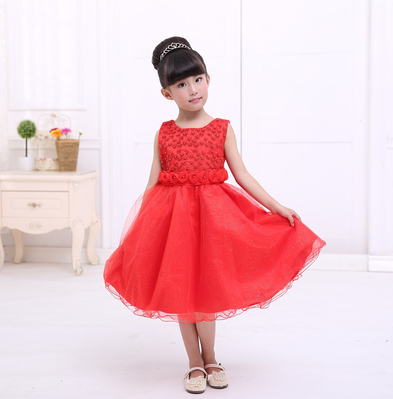 Fresh And Simple Princess Dress Flower Girl Wedding Show For 3 7 Years Old Children Wear Free Shipping In Dresses From Mother Kids On