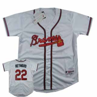 new product 1a55e 03e55 Atlanta Braves Jason Heyward Authentic White Jersey size 48(M)-in Baseball  Jerseys from Sports & Entertainment on Aliexpress.com | Alibaba Group