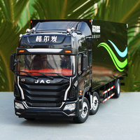 Exquisite,Collectible Alloy Model Gift 1:32 Ratio JAC GALLOP K5W VAN Container Truck Vehicles DieCast Toy Model for Decoration
