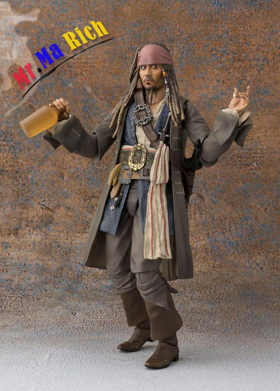 Pirates of the Caribbean: Action Figure Captain Jack Sparrow captain jack captain jack 1 flashcards