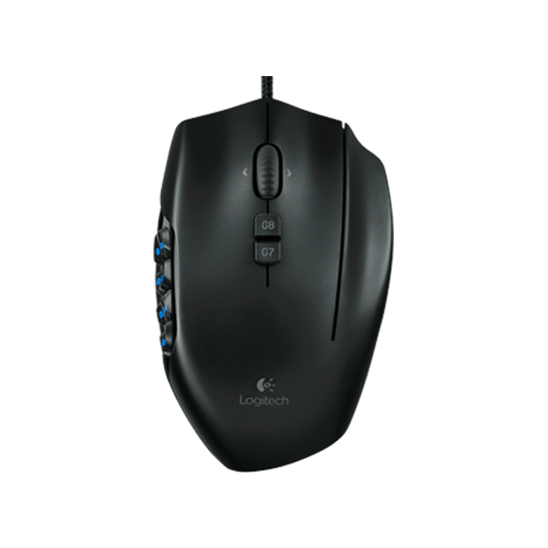 Logitech G600 MMO Gaming Mouse,RGB Backlit, 20 Programmable Buttons