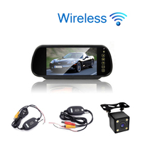 Car Styling 7 Inch TFT LCD Screen Car Rear View Monitor Display For Rearview Reverse Backup