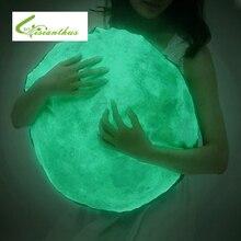 Красочные Тело Чехлы Луна Glow Световой Наволочка Светоизлучающих Луна Чехлы Детская Комната Гостиная Декор