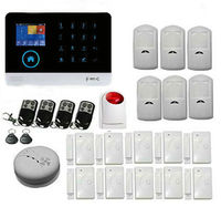 Yobang Security Wireless SIM GSM Home RFID Burglar Security LCD Touch Keyboard WIFI GSM Alarm System