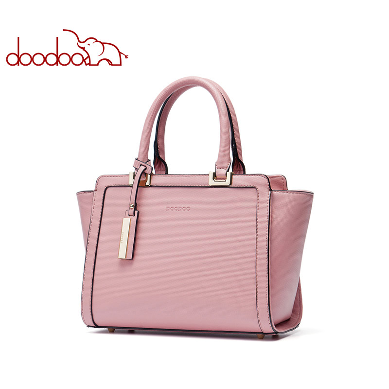 DOODOO Women Handbag Tote Bag Female Shoulder Crossbody Bags Ladies Artificial Leather Top-handle Bag New Tassel Messenger Bag women bag set top handle big capacity female tassel handbag fashion shoulder bag purse ladies pu leather crossbody bag