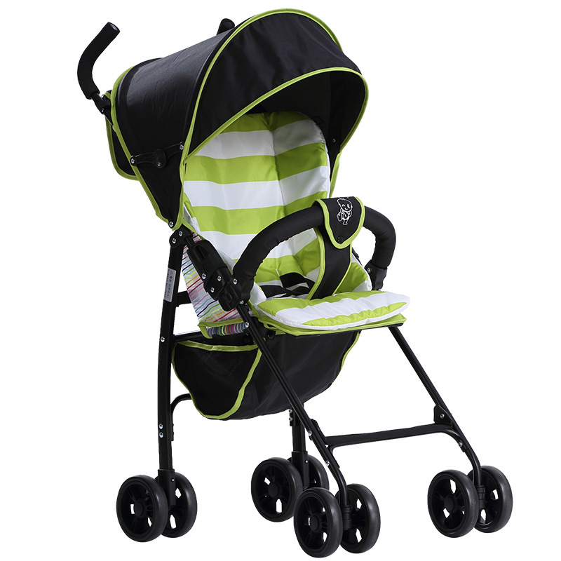 Ji Baobao Baby Cart Lightweight Baby Trolley Newborn Light Folding Umbrella Car Baby Carriage Four Wheels Airplane Stroller Pram цена 2017