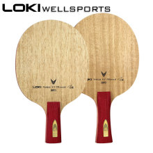 LOKI V7 Clcr Table Tennis Blade Professional Pingpong Pad Attack Offensive Ping Pong Racket No Rubber Wang Hao Celebrity milky way galaxy yinhe bamboo chinese penhold short handle cs table tennis pingpong blade loop attack