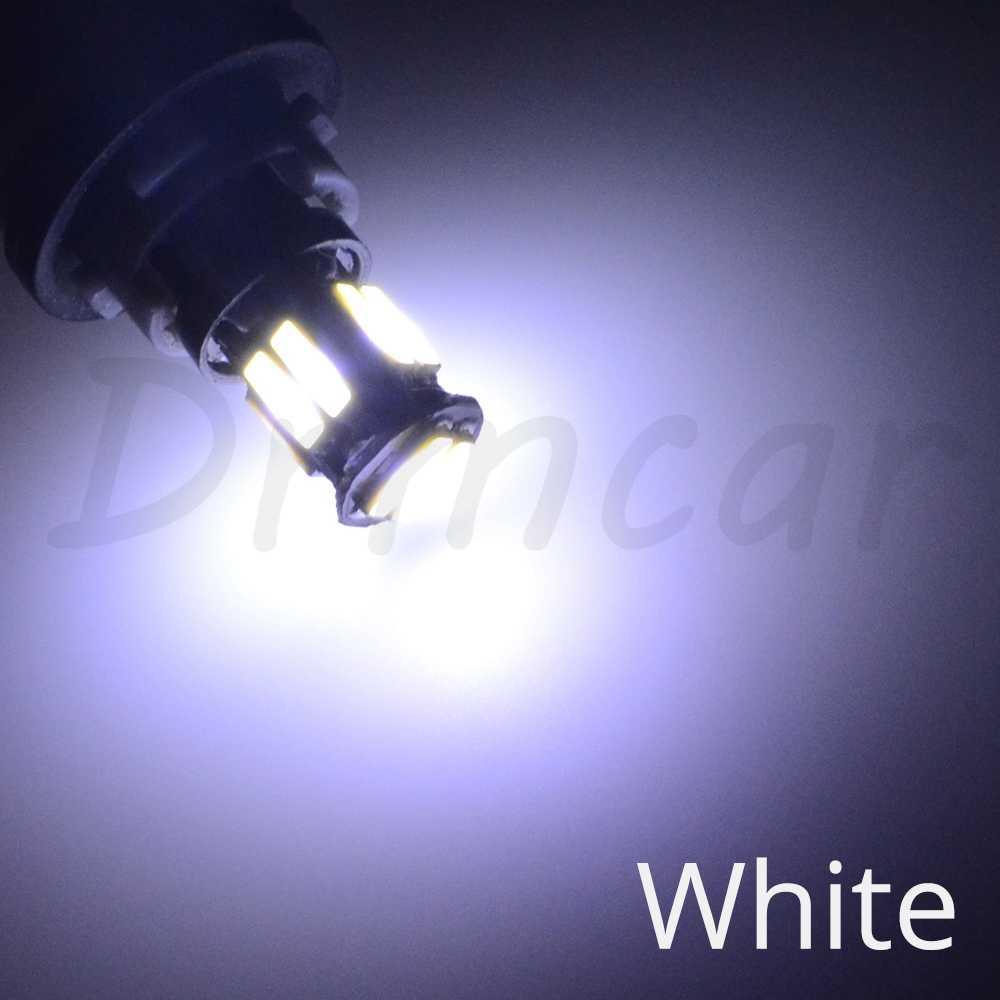 W5W 10 LED 7020 SMD Mobil T10 LED 194 168 Baji Penggantian Reverse Panel Instrumen Lampu Putih Biru Lampu untuk clearance Lampu