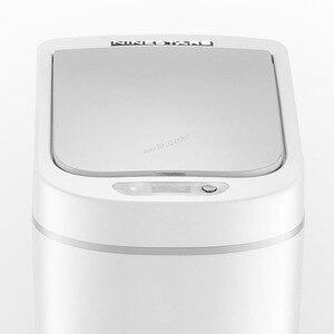 Image 3 - Оригинальный умный мусорный бак Youpin NINESTARS, датчик движения, автоматическое запечатывание, светодиодный, индукционный, мусорный бак 7/10 л, мусорные баки для дома
