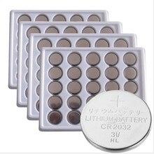 Bateria de Lítio Célula tipo Moeda Frete Grátis 50 PCS 3 V Cr2032 Br2032 Dl2032 Ecr2032 CR 2032 Botão Baterias