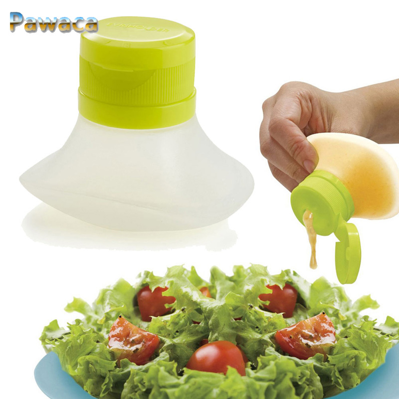 Squeeze Type Sauce Condiment Bottle Salad Dressing Mini Food Storage