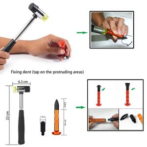Image 5 - Furuix  Auto Body Paintless Dent Removal Tools Kit Dent Lifter Bridge Puller Set For Car Hail Damage And Door Dings Repair
