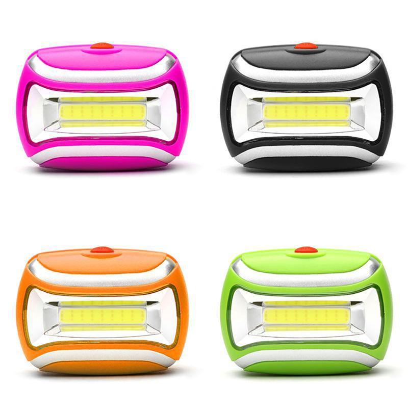 2018 New Waterproof 600LM COB Headlight Mini LED Light Outdoor Camping Hiking Head Lamp