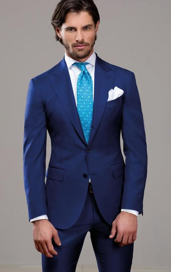 High Quality Mens Blue Suits-Buy Cheap Mens Blue Suits lots from