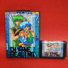 Divine Sealing 16 bit MD card with Retail box for Sega MegaDrive Video Game console system