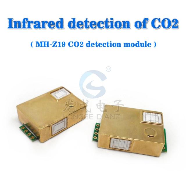 free shipping,Mini, MH-Z19, infrared NDIR gas sensor module the CO2 detection UART / PWM Output signal