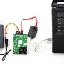 Для 3,5/2,5 жесткий диск SATA/PATA/IDE диск к USB 2,0 адаптер конвертер кабель