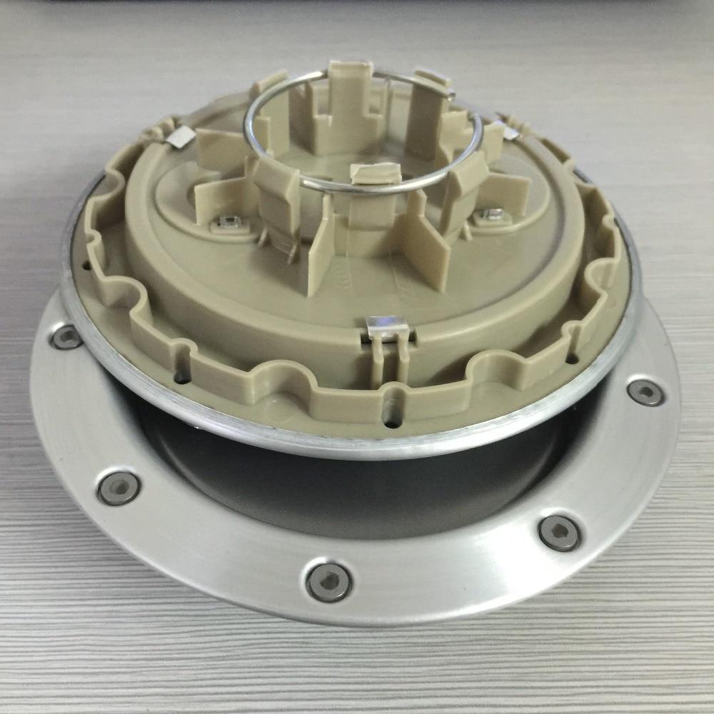4pcs 146mm Gray/Black Rim Cover Wheel Center Hub Caps For Audi TT Quattro Part Number 8D0 601 165 K , 8D0601165K BY DHL