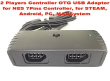 2 Players Controller OTG USB Adaptor for NES Controller, for STEAM, Android, PC, MAC and Raspberry PI