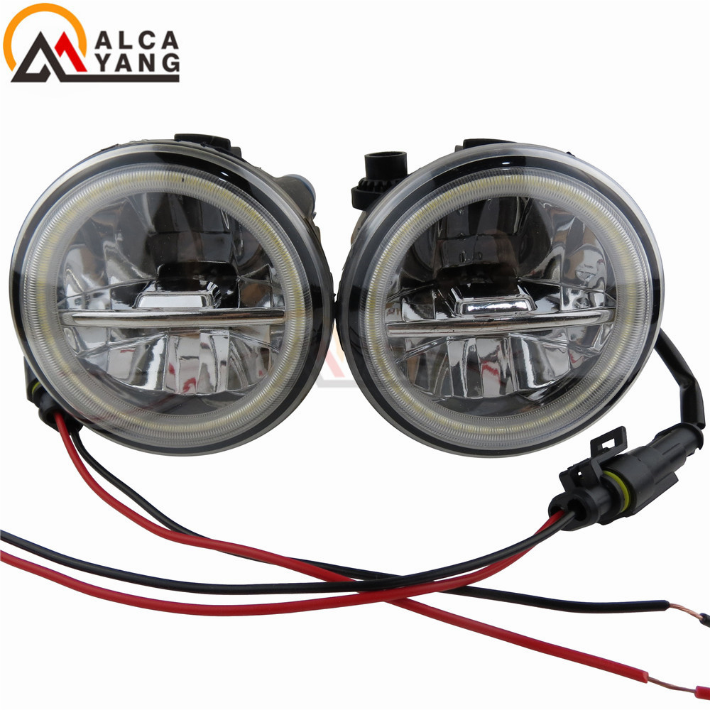hight resolution of car light assembly car lights for nissan tiida quest cube 2006 2015 high brightness fog lamp assembly led fog lights 12w 2pcs