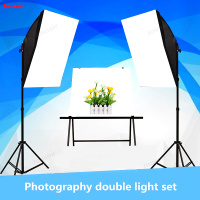 Studio Two Light Set photography lamp set Photographic equipment photography lighting box Softbox portrait shooting CD50 T11