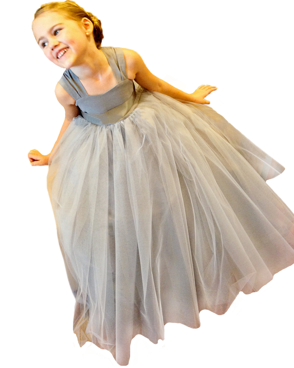 Grey And Yellow Flower Girl Dresses Excellent Grey Flower Girl