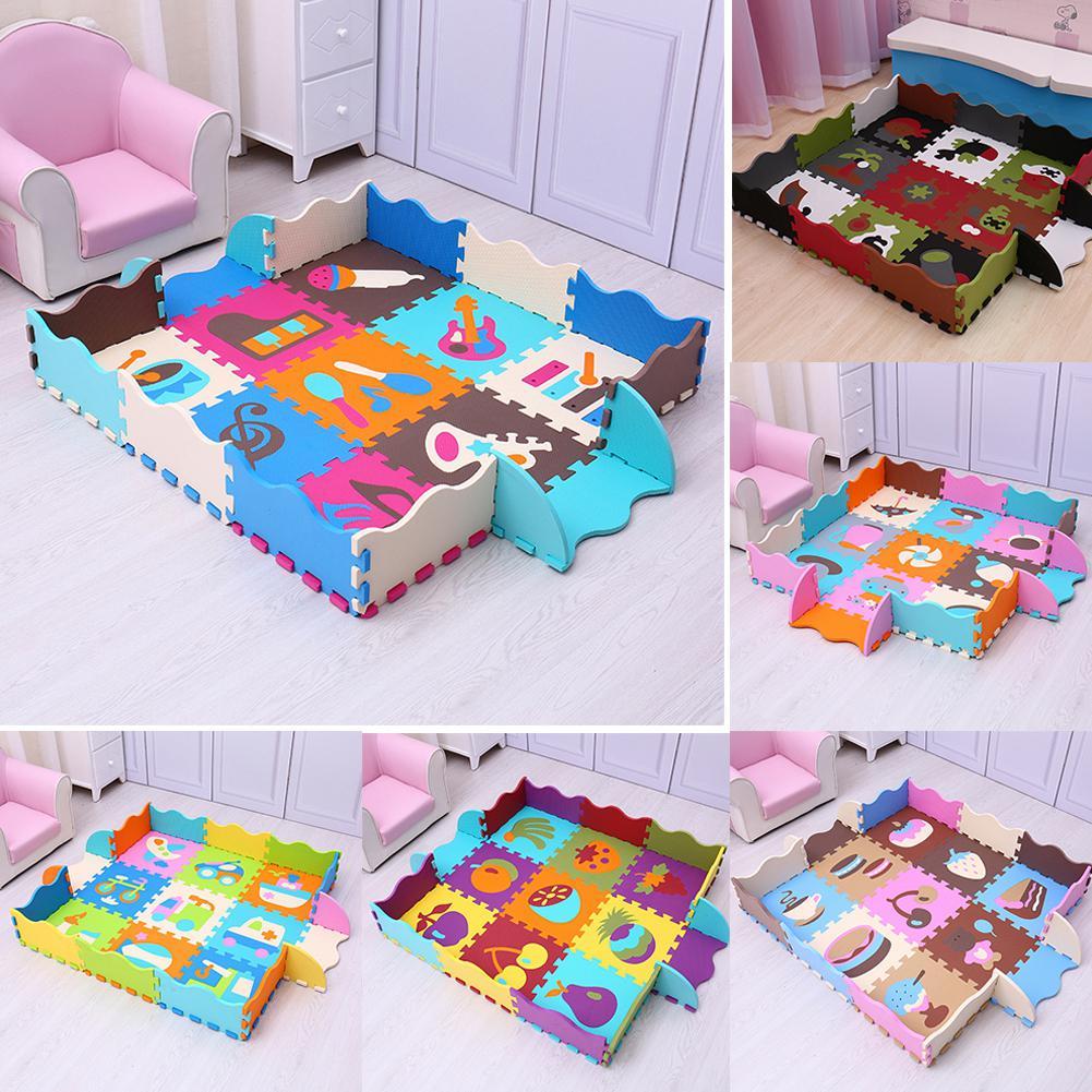 LeadingStar Cool bébé mousse jeu/Puzzle tapis tapis de sol imperméable tapis de jeu pour les enfants