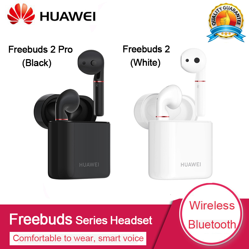 Original Huawei FreeBuds 2 2Pro Hand Free Earphone with Bluetooth 5 0 Bone Voiceprint ID IP54